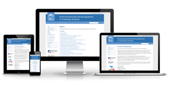 Responsive Website NKR-SH